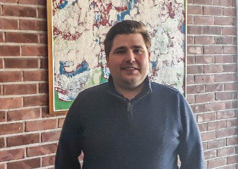 NY JOBB: Kristian Ølmheim har fått ny jobb som økonomisjef for Høyanger kommune.