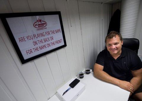 Reiser snart: Magnus Sundquist er klar for svenske Tingsryd. I juni starter arbeidet hos den svenske klubben. foto: erik hagen