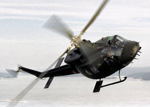 Kjøper flyplasstjenester: Forsvaret har stasjonert Bell-helikoptre på Rygge og må stå for flyplassdriften selv hvis Moss Lufthavn Rygge legges ned. Arkivfoto: Luftforsvaret
