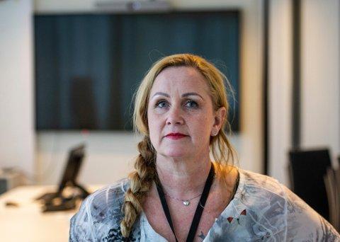 Yvonne Schilling varslet på vegne av politijuristene. , men det blir ingen kritikk mot politiledelsen.