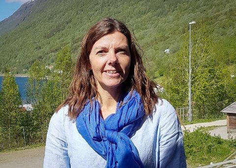 Rektor i Beisfjord: Heidi Fagerjord Liljebakk.
