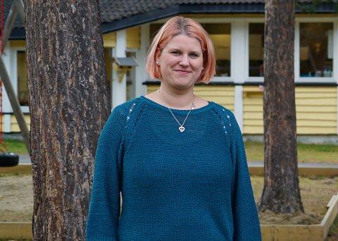 HÅPER: Camilla Irene Davidsen har troen på at det er muligheter for å få til en leirskole i Skjomen.