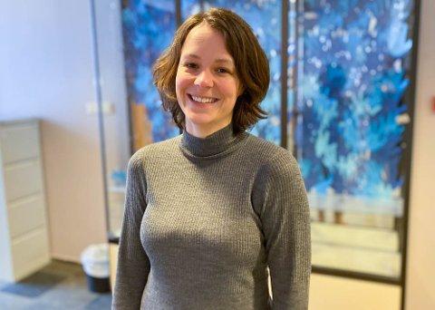 VIKAR: Heidi Eliassen Holtet (35) fikk en flying start på vikariatet sitt.