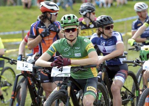 PUNKTERTE: Erik Hægstad endte på 25. plass.