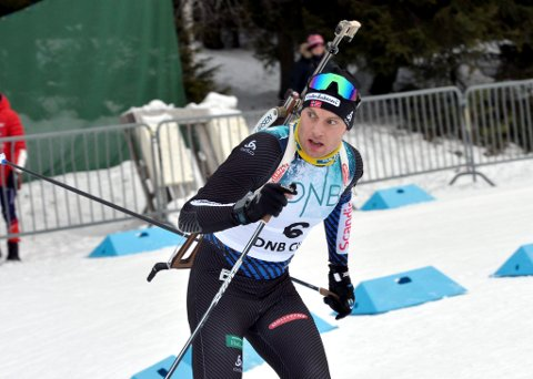 Tidligere langrennsløper, Emil Nyeng fra Ringebu vant KM i skiskyting.