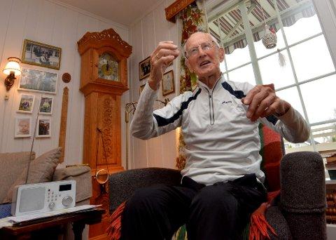 Alf William Hojem på Jørstadmoen skal hjem til Finnmark for å delta i feiringen av frigjøringen fra tyskerne, som russerne sto for.