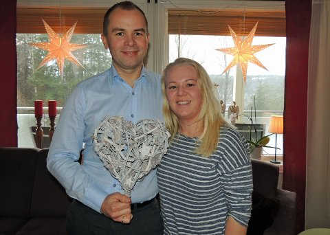 KJÆRLIGHET SOM VARER: Kim Atle Svendsen og Eva Adolfsen Svendsen (begge 38) har holdt sammen i 23 år. De har vært gift i 15 år og har to barn på 19 og 16 år.