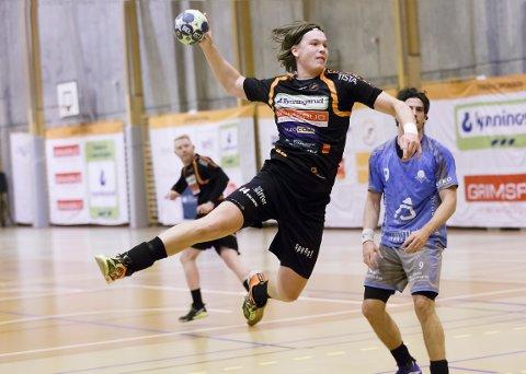 Thomas Solstad begynner å finne formen og var en av banens beste mot Sandnes.