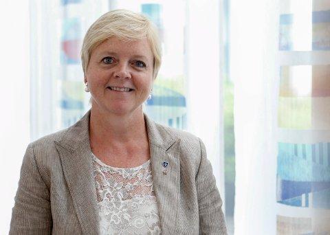 Fylkesordfører Solveig Ege Tengesdal i Rogaland. Medlemmene i fylkestinget i  får 498.342 kroner i snitt i lønn. I Vest-Agder er snittet 221.486 kroner.