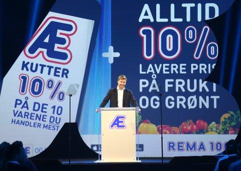Kundeprogrammet Æ ble presentert av konserndirektør for strategi og innkjøp i Rema 1000, Lars Kristian Lindberg tidlig i januar.