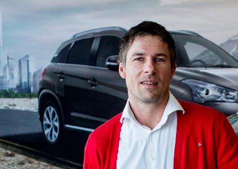 ÅRETS SELGER: Ingve Talmo solgte 151 Citroëner i fjor.