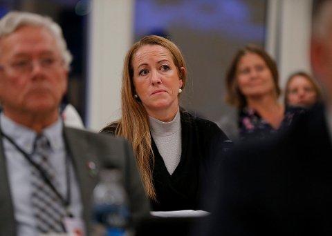 VIL STILLE STRENGERE KRAV: Marianne Sol Levinsen (SV) kom med forslaget under onsdagens ekstraordinære kommunestyremøte.