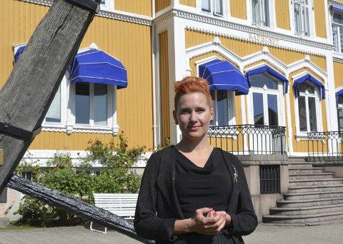 Svarer: Varaordfører Charlotte Therkelsen Sætersdal (Rødt) mener Reidar Skoglund kommer med feilaktige påstander.