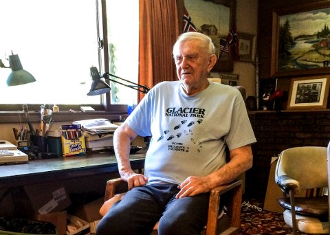 Arvid Kristoffersen er den siste fra Kragerø som har blitt tildelt Minnemedaljen for innsatsen under 2. verdenskrig.