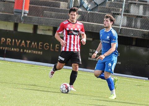 Mokhmad Ibragimov scoret sitt første mål for Pors i kampen mot Vardeneset.
