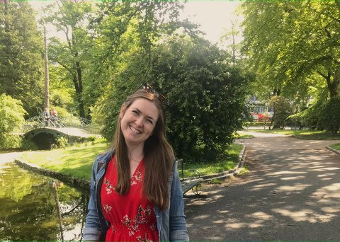Nyutdanna: Helene Olderkjær Lillebø blei nyleg ferdig med ein mastergrad i reiseliv.
