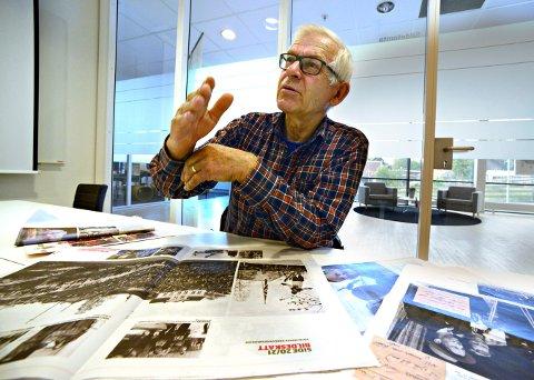 LITT SKUFFET: Vebjørn Ruud synes det er synd at Norsk Bergverksmuseum ikke rådfører seg med levende kilder når de legger ut informasjon digitalt. Han har funnet mange feil i databasen Digitalt Museum.