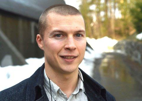 SPORTSLIG LEDER: Henrik Aabel. FOTO: OLE JOHN HOSTVEDT