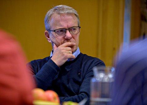 UTVALGSLEDER: Just Salvesen (Sp) er leder i utvalg for helse og omsorg i Kongsberg. Han og resten av utvalget har vedtatt å etablere Rask Psykisk Helsehjelp.