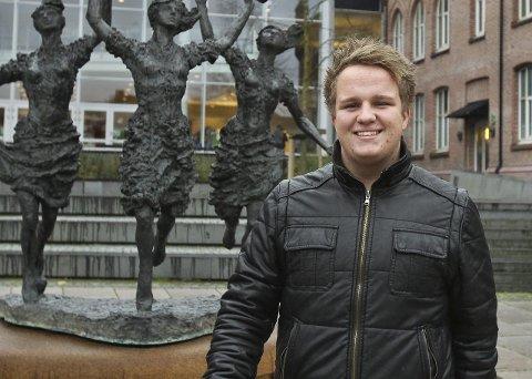 Tapte: Espen Haulan Johansen (Ap) var tre stemmer unna kommunestyre-plass, men er glad for å bli vararepresentant.