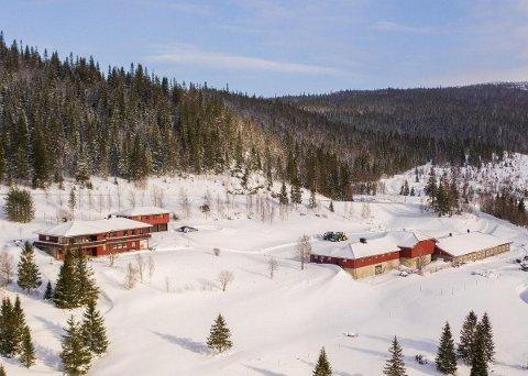 TIL SALGS: Gøran Nyborg og Kari Merete Lian selger Kveaunet gård, som ligger midt mellom Sørli og Nordli. Prislappen for gården, med den 3.200 mål store tomta er 12,5 millioner.