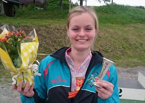 Maren Galguften Lunsæter fra Tromsø Skytterlag ble skytterprinsesse i NNM i Bodø lørdag. Det er første gang siden 1984 at skytterlaget vinner tittelen.