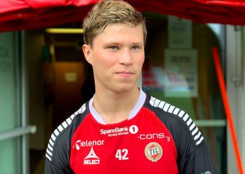 ETTERTRAKTET: Sander Finjord Ringbergs sesong i TUIL-drakten førte nylig til et tredje besøk hos TIL på Alfheim. Nå er 20-åringen på plass i Bodø, der han trener med Bodø/Glimt.