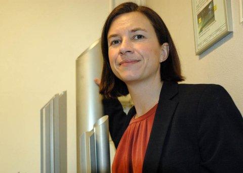 TOPPSJEF: Vera Flatebø fra Bøverbru er sjef for 225 ansatte i Hydal på Raufoss.