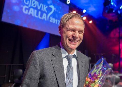 VANT I FJOR: Geir Langedrag fikk prisen som Årets medmenneske under Gjøvikgallaen i fjor. Arkivbilde