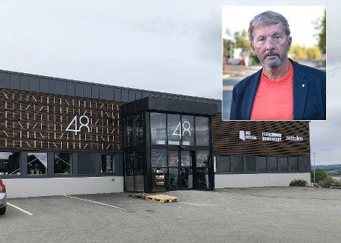 FYLLES OPP: Lokalene ved Rambekk i Gjøvik, eid av Tema Eiendom og direktør Reinert Seljeskog, er halvvegs fylt opp - to år etter at Biltema flyttet ut.