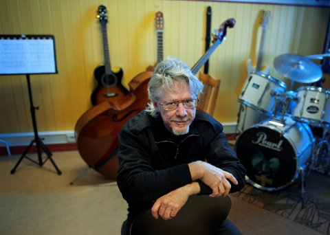 GÅR AV: Per Inge Høiberg har ledet musikk- og kulturskolen i Østre Toten siden den startet som et «kommunistisk kollektiv» i 1984.