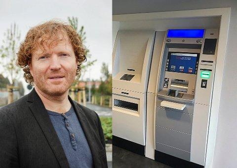 FOR KONTANTER: Sigbjørn Gjelsvik (SP) vil ta opp problemer med kontanter med finansminister Siv Jensen.