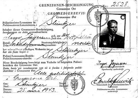 FALSK ID: Ingv. Jægersen – et av Rolfs falske ID-kort