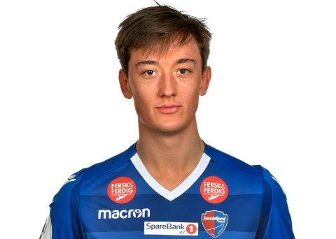 PÅ UTLÅN: Sander Risan Mørk er lokal Vestfold-gutt, som kommer på utlån ut sesongen fra Sandefjord. Han debuterte i Eliteserien for SF Mot Molde i fjor.