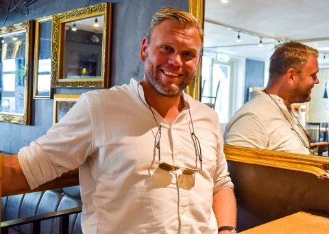 BRAKK ET BEIN: Ole Martin Holthe hadde en plan om å stå på flere bein i sin nye bedrift. Det ene forsvant med koronaen før han fikk startet.