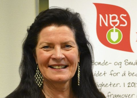 GJENVALG: Merete Furuberg, leder i Norsk Bonde- og småbrukarlag.