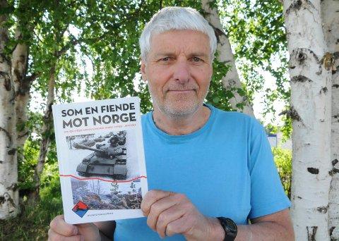 KRIGSHISTORIE: Øyvind Strann Larsen er forfatter av boka «Som en fiende mot Norge», Den handler om den sovjetiske oppmarsjebn mot norsk grense i juni 1968.