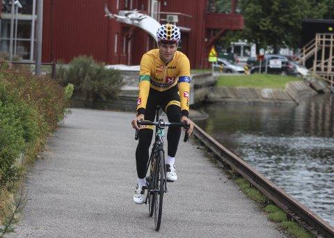 Syver Westgaard Wærsted vant siste etappen av tredagersrittet International Tour of Rhodes.