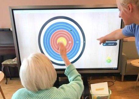 GØY: Her er ett eksempel på hva ny software og nye skjermer kan brukes til. Foto fra rapport.