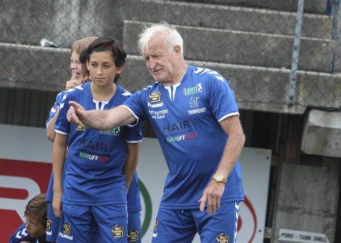 Opplevd mye: Loris Boni (66) har opplevd mye i et langt liv i italiensk fotball. Nå kommer Roma-speidere, som har over 200 kamper i Serie A, for å være instruktør på fotballskole i Bamble.