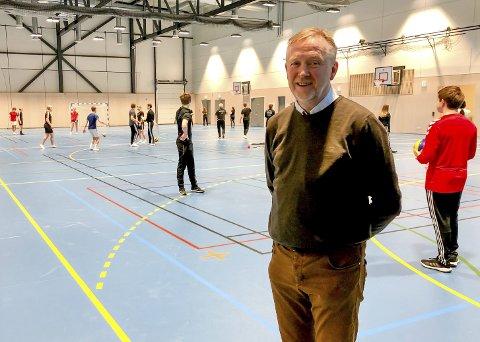 God dialog: Espen Raastad og idrettsavdelingen i Porsgrunn kommune har kartlagt behov i lokalidretten. Fordelingen ventes klar mandag.