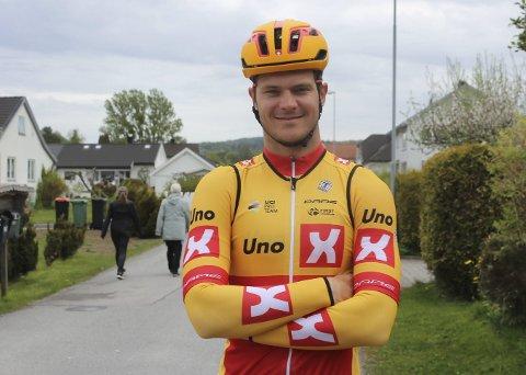 GODT KJENT: Syver Westgaard Wærsted (23) kjenner NM-løypa bedre enn de fleste. Uno-X-rytteren tror det vil være en fordel for han under helgens NM.