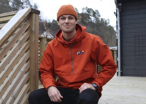 Aktivitetsguide: Scoringsmaskinen Patrick Løvig er ute i oppdrag for Eidanger også. Nå som aktivitetsguide i Rocket Man prosjektet. Han sier det er noe av det beste han har gjort.