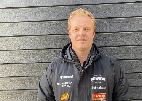 Full lockdown: Hei-leder Ole Christian Wiger Sørensen og resten av styret besluttet i forrige uke at det er full stans i all idrettslig aktivitet i klubben. Selv barneidretten er stoppet i IL Hei nå.
