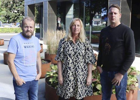 URÆDD: Geir Friberg, Wenche Jansen og Stian Karlsen i Urædd håndball.