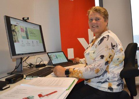 Ny jobb: Med Elin Rønning på plass som spesialrådgiver, har Innovasjon Norge Nordland etablert kontor i Mo i Rana. Rønning skal jobbe spesielt med bærekraftig innovasjon innen industri og marin sektor.