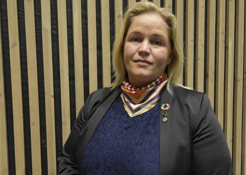 SJEF: Kari Anne Bøkestad Andreassen er fylkesordfører for Nordland fylke. Foto: Viktor Leeds Høgseth