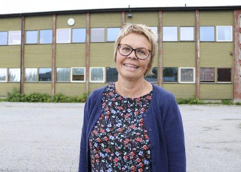 GLEDER SEG: Ingrid Nygaard (65) har gledet seg hele sommeren til skolestart, og dette året blir kanskje det mest spennende hittil.