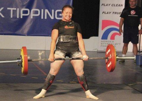 Sølvjente: Monika Kvam imponerte stort og fikk med seg sølv ifra sitt første NM.