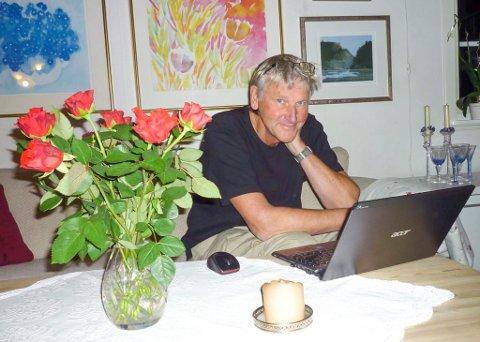 NYE VEIER: Trond Fjeld ville starte en folkebevegelse da han stiftet «Brumunddal på nye veier» våren 1991. Han fikk raskt motstand. Nå er han pensjonist og bosatt i Halden.